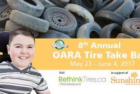 OARA Tire Take Back 2017